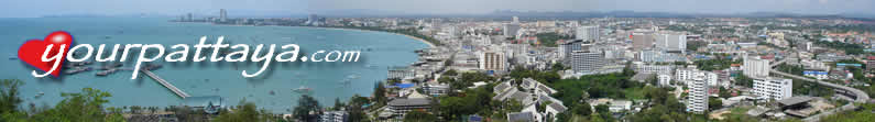 "Pattaya Bay viewed from ""Radio Tower"" look out."